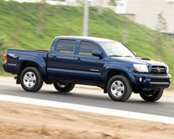 The second generation Toyota Tacoma is assembled in the United States