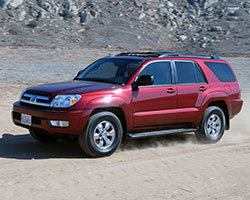 Due to its retention of a body on frame design, the Toyota 4Runner is considered a mid-size semi-luxury SUV that still retains some of its original off-road capabilities