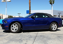 2011-2014 Ford Mustang 3.7L can experience an increase in horsepower and torque as well as more aggressive engine sound from an AEM Intake