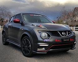 Gray Nissan Juke