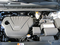 The AEM replacement Dryflow air filter for several Hyundai and Kia models is designed for an air-tight seal in the factory air filter box without any need for modifications