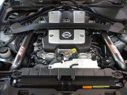 AEM Cold Air Intake System installed on 2009 Nissan 370Z