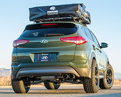 2016 Hyundai Tucson with Magnaflow exhaust system