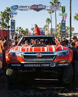 Honda Unlimited Class 2 Ridgeline before 2015 SCORE Baja 1000
