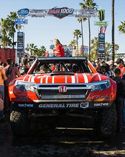 Honda Unlimited Class 2 Ridgeline before 2015 SCORE Baja 1000
