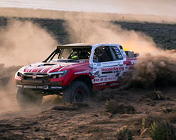 Jeff Proctor, Sage Marie and Jason LaFortune earned SCORE Class 2 victory in the 48th running of the SCORE Baja 1000