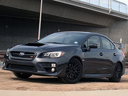 The 2015 Subaru WRX STi is powered by the EJ257 intercooled and turbocharged H4 boxer engine