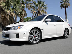 In 2010 for the 2011 model year, the third generation Subaru WRX STI became available as a four-door sedan