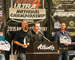 Derek West and the AEM sponsored # 20 Nitto Tire/Northstar Battery/KMC wheels team won the Ultra 4 East Coast Championship