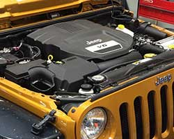 Mike Kim looked to AEM for Jeep Wrangler JK cold air intake system, number 21-8316DS, because the sealed air filter box keeps out heat, mud, and water when off-roading