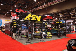 AEM brought many new products to display at SEMA