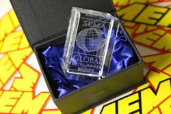 SEMA Global Media Award.