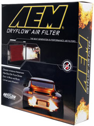 AEM Dryflow OE replacement air filter box