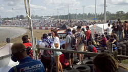 The stands were overflowing with drift fans over the weekend in Florida.