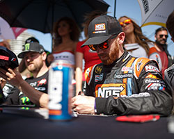2015 marks the return of NOS Energy Drink as the title sponsor of the AEM supported Chris Forsberg Racing team