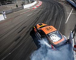 Chris Forsberg drove his AEM Dryflow air filter equipped Nissan 370Z in a near flawless qualifying run
