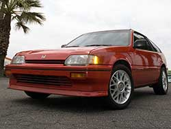 The Fourth Generation EF Honda Civic CRX Si was powered by the D16A6 but was commonly swapped for a JDM Civic Type-R or Acura Integra GS-R B-Series engine