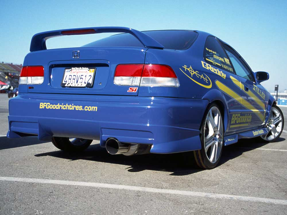 2015 Honda Civics 1999 and 2000 EK Honda Civic Si coupe was available in Electron Blue ...