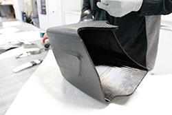 AEM carbon fiber molding process
