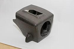 AEM carbon fiber air box molding