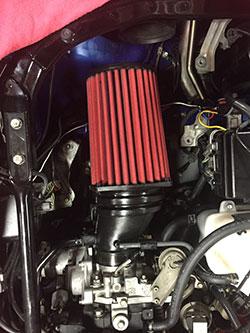 AEM custom air intake
