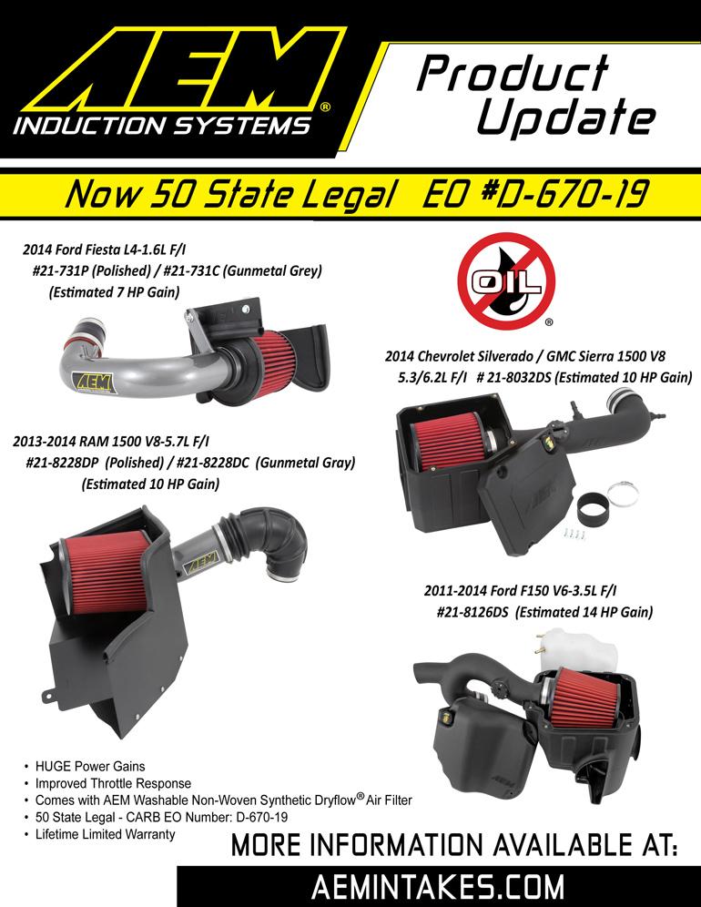 AEM Sell sheet for AEM-21-730C