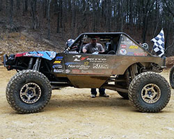 Following a successful 2015 King of the Hammers finish AEM sponsored driver Derek West drove his Ultra4 car to win the Dirt Riot 4400