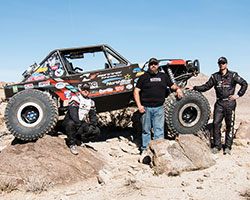 AEM Intakes sponsored Jimmy's 4x4 Ultra4 2015 King of the Hammers team