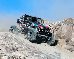 The 1st lap of the 2015 King of the Hammers course was a lot of open desert with speeds over 90 MPH
