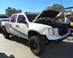 Dyno testing shows that Garret's GMC Sierra 5.3L V8 engine made 475 horsepower with AEM air intake