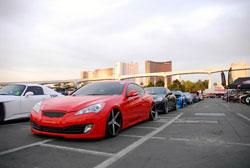 2011 Hyundai Genesis as seen during 2012 SEMA Show