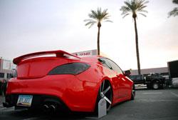 2011 Huyndai Genesis Coupe - at SEMA 2012