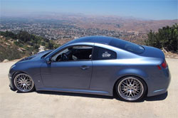 John Butiu's G35 is as stunning as the view from atop a mountain