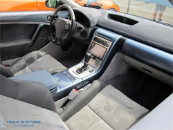 This G35 exemplifies everything Butiu imagined a show car would be, even the interior