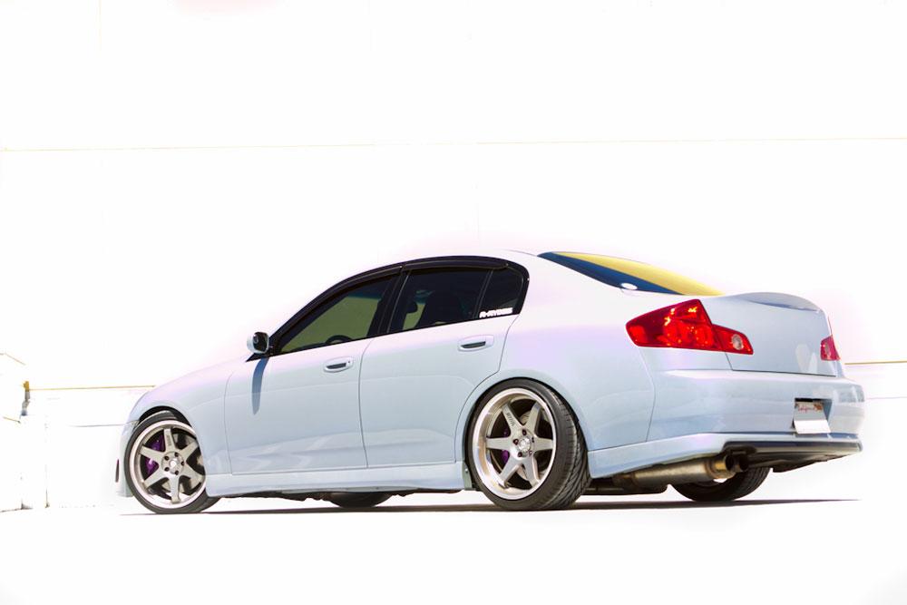 2005 Infiniti G35 Coupe >> Michael Ramos Discusses Custom 2005 Infiniti G35 with AEM Performance Upgrades