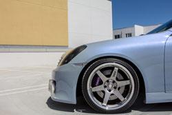 The Custom Wheel, Tire & Brake setup on the Infiniti G35
