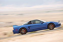 Clarion Acura NSX at Willow Springs International Raceway