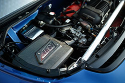 Supercharged Acura NSX 3.2L engine