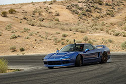 Chris Forsberg Drives Clarion Acura NSX