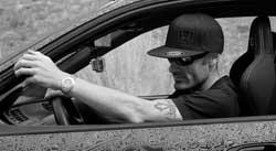 Shaw Lisjack Riding Around in his Engraved EG Honda Civic