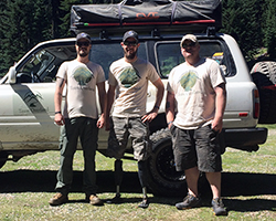 Team Overland's recent adventure consisted of helping a Vetto the 7,500' summit of Dutchman's Peak in Oregon's Siskiyou National Forest