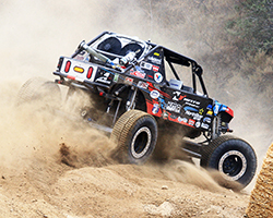 With just a few minutes to spare the Jimmy's 4x4 team had the Nitto Tire/ NorthStar Battery car fixed and Derek West able to get on track and qualify fifth for the Glen Helen GP heat race