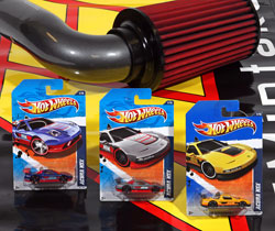 Hot Wheels' AEM Acura NSX die-cast cars