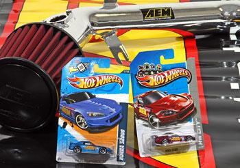 Hot Wheels' AEM Honda S2000 die-cast cars