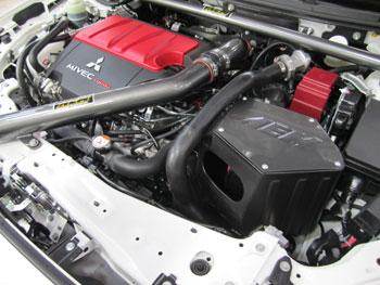 2010 Mitsubishi EVO X with AEM 21-678C, 2102-A, 2102-B, and 29-0000