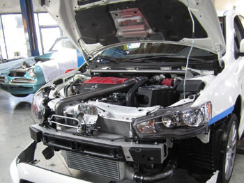 AEM 21-678C in 2010 Mitsubishi EVO X - with 2102-A, 2102-B, and 29-0000