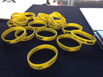 AEM Inductions Systems Wrist Bands