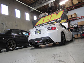 2013 Scion FRS at AEM Hawthorne for Product Developmentt