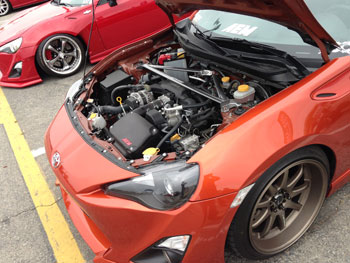 Scion FRS with AEM 41-13408DS and 29-0009