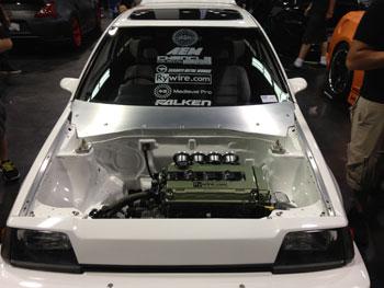AEM Intake/Electronics sponsored 87 Honda Civic EA-T